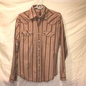 Wrangler 20X pearl snap shirt
